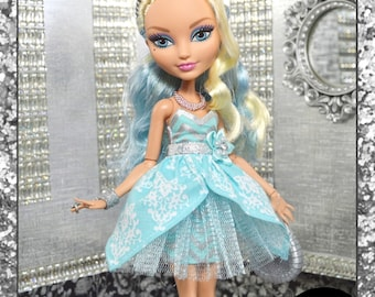 "Ever After High Doll ""Happily Ever After"" royal fashion dress"