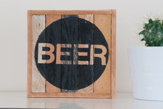 "6""x6"" ""Beer"" Stark & Steel Series #102 