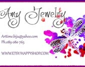 Original  hand painted customizable dragonfly business card, Professional Business Logo, graphic design, logo design,