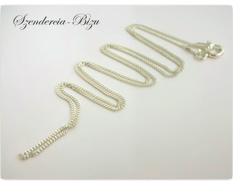 925 silver necklace Armored Chain 55cm