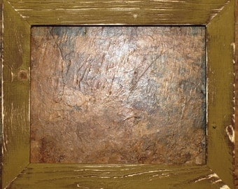 """1-1/2"""" Gold Distressed Picture Frame"""