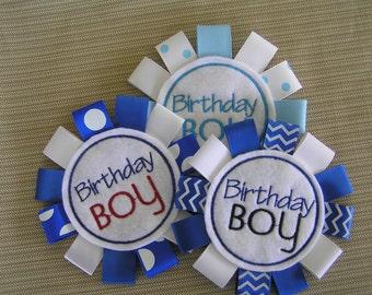 Embroidered Birthday Boy badge