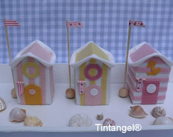 Beach Houses Soft colors - DIY kit