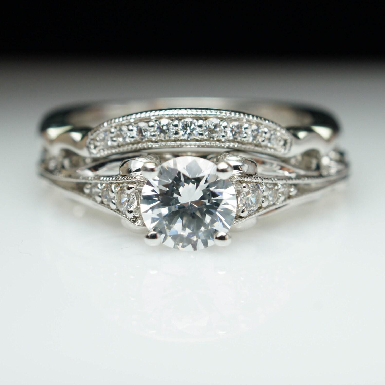 Luxury Wedding Rings Sets Vintage