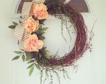 In Bloom | Whimsical Summer Wreath