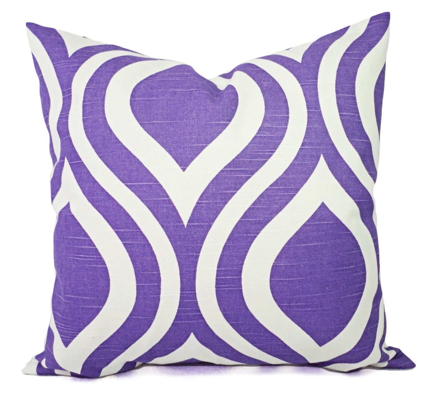 CLEARANCE Purple Pillow Cover Decorative Pillow Cover
