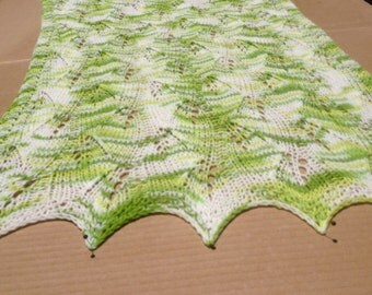 Chasing leaves baby blanket organic cotton-ready to ship