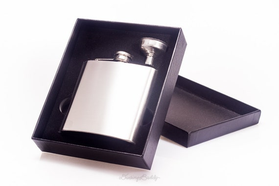 Add Funnel and Gift Box a 6oz flask