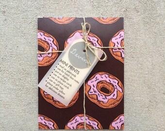 Doughtnut Mini Print Set