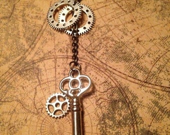 Claustrum Machinae Steampunk Necklace