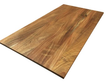 African Mahogany Tabletop - Custom Sizes Available