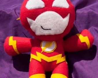 Handmade The Flash Flash Plush