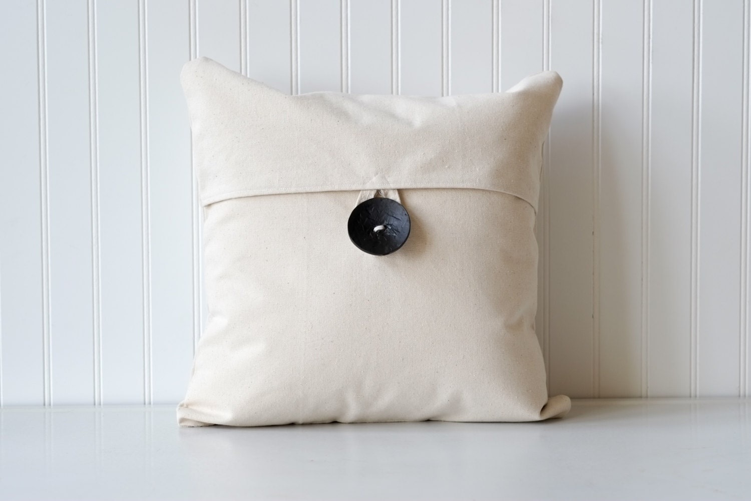 Decorative throw pillow wooden button pillow button pillow
