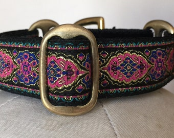 """1"""" Martingale Collar Ideal for Whippets, Italian Greyhounds and Sighthound Puppies"""