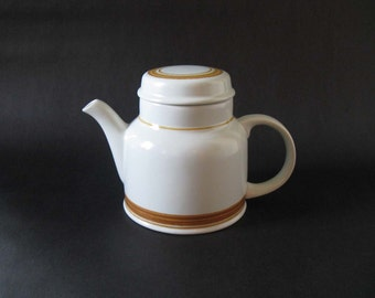 Royal Doulton Lambethware Cinnamon Teapot - Royal Doulton, UK 1970s