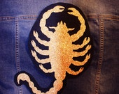 THE DRIVER Scorpion Drive movie HUGE Sew-On Patch / Applique *new - bigger!*