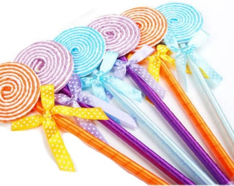 Lollipop Candy Party Favor Pen for Candy theme Party