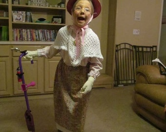 Granny Grandma old lady outfit