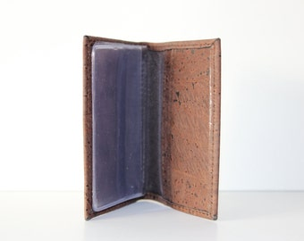 Cork Wallet for cards