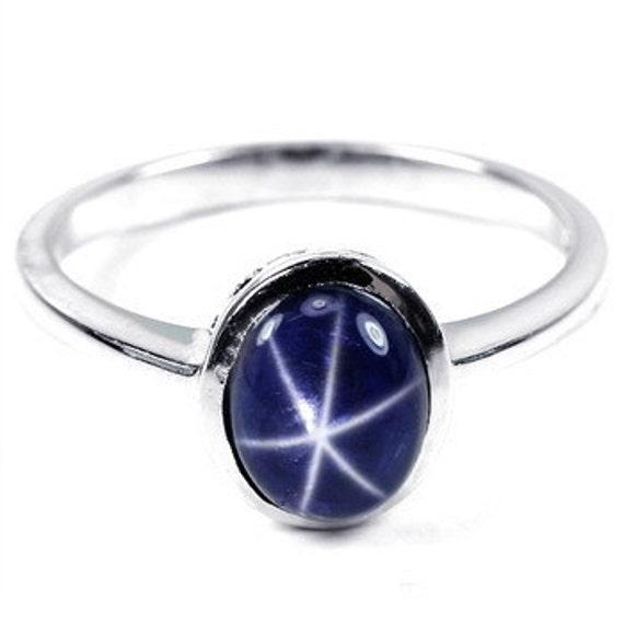 genuine star sapphire ring - photo #34