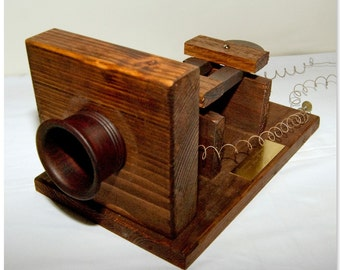 Graham Bell's First telephone. ( Non functional)
