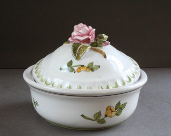vintage french ceramic tureen