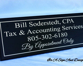 Custom Business Signs Business Sign Welcome Sign Wooden Signs, Wooden Signs Custom, Signage Office Supplies Advertising Sign