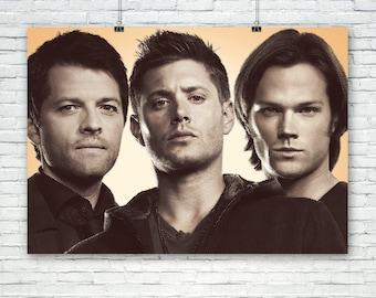 Supernatural Art Print Poster