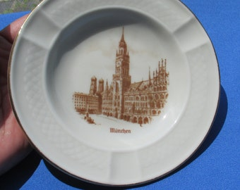 Vintage Johann Haviland Bavaria Souvenir Ashtray