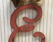 OAK's Original Initial Door Hanger- E,F,G