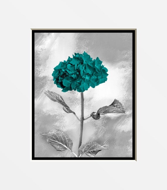 Teal Color Wall Decor : Teal gray wall art pictures decorative by littlepiephotoart