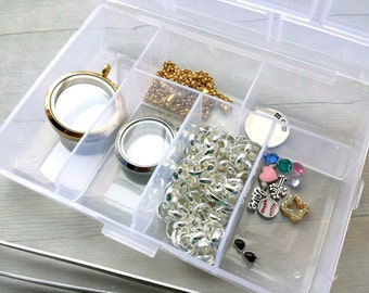 "Shop ""floating charms"" in Jewelry Storage"