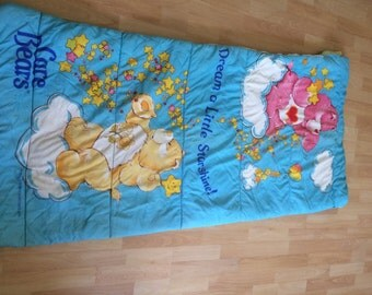 Items similar to Sleepy Time Blue Stripe cotton fabric ...