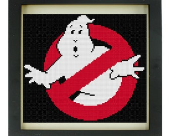 Custom: Ghostbusters Cross Stitch Pattern