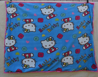 "Homemade baby quilt"" hello kitty"""