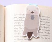 Sea Otter with Rock Magnetic Bookmark (Jumbo)