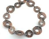 "50% OFF 40"" 1 metre Antique Copper Brass Bronze Irregular Hammered Chain 103561 103521"