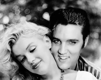 Marilyn Monroe & Elvis Presley - Fantasy Photo