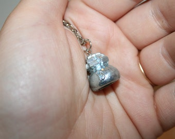 Money Bag Token Necklace from Monopoly Board Game
