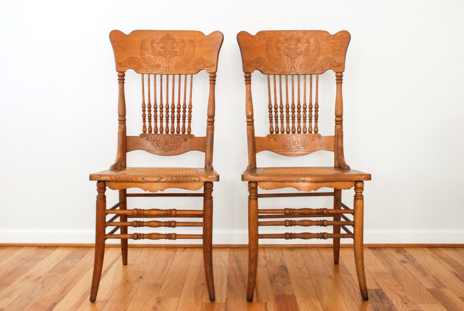 Antique Wooden Chairs ~ Antique wood chairs dining cane