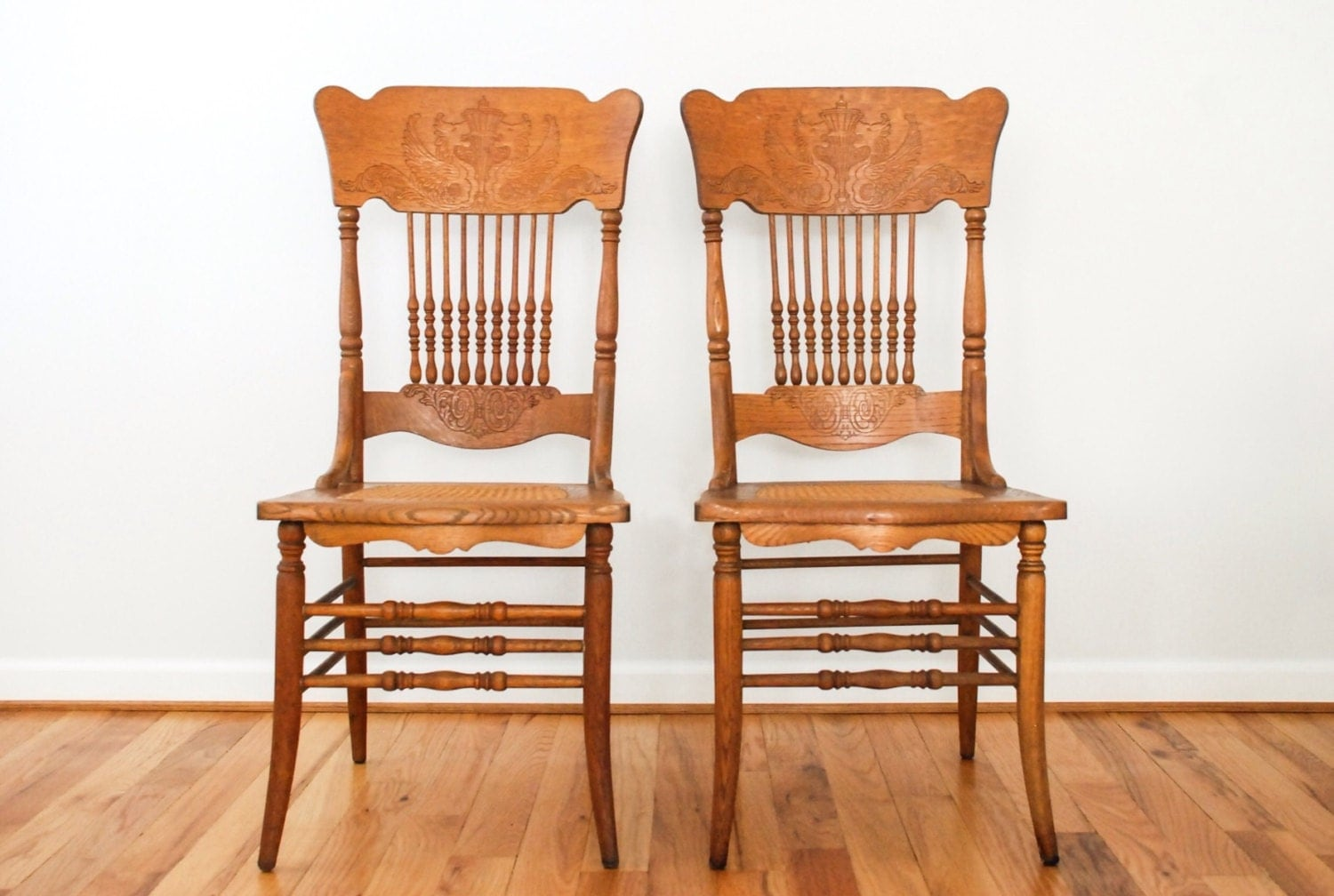 Antique victorian dining chairs -  Zoom