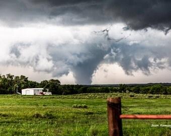 Tornado Photography, Tornado Print, Tornadoes, 30 x 45 Print, Tornado Picture, Twister, Texas Photography, Extreme Weather, Tornado Art, Sky