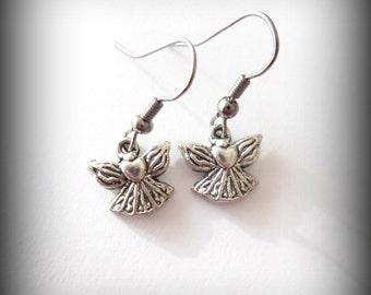 guardian angels - angel earrings