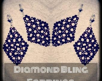 Diamond Bling Earrings