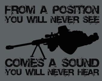 Sniper Position Shirt