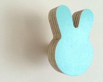 Wall Hook Bunny Minty