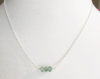 Sparkly Emerald Necklace