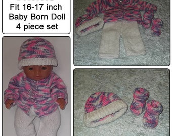 ANNIE To fit baby born and similar size dolls 16 or17 inch