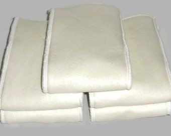 Bamboo Hemp fleece & Zorb Insert  - Set of 5 pcs (Very absorbent Insert )