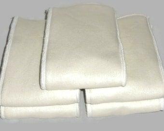 Bamboo hemp fleece  & Zorb Insert - Set of 3 pcs
